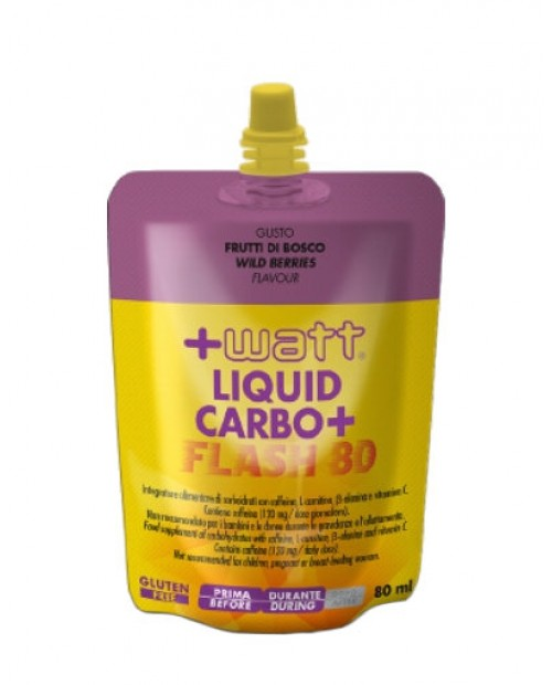 +WATT Liquid Carbo+ Flash 1 cheerpack da 80 ml