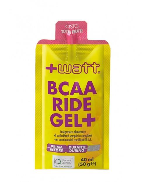 +WATT BCAA Ride Gel+ 1 gel da 40ml