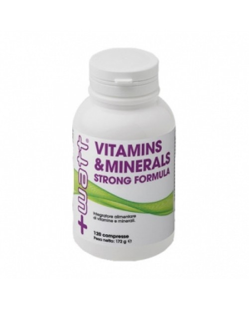 +WATT VITAMINS & MINERALS STRONG FORMULA 120 CPR