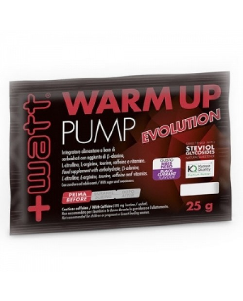 +WATT WARM UP PUMP EVOLUTION 25 G