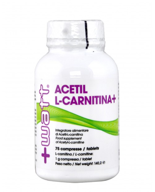+Watt Acetil L-Carnitina 75 Compresse