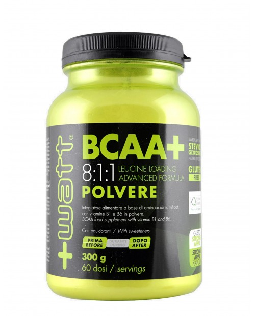 +Watt BCAA + 8:1:1 polvere 300 g