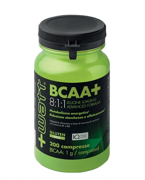 +Watt BCAA+ 8:1:1 200 Compresse