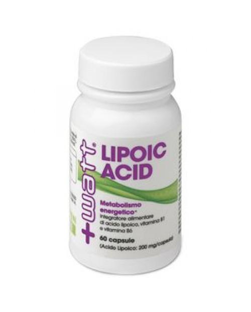 +Watt Lipoic Acid Strong 200 mg 60 Capsule
