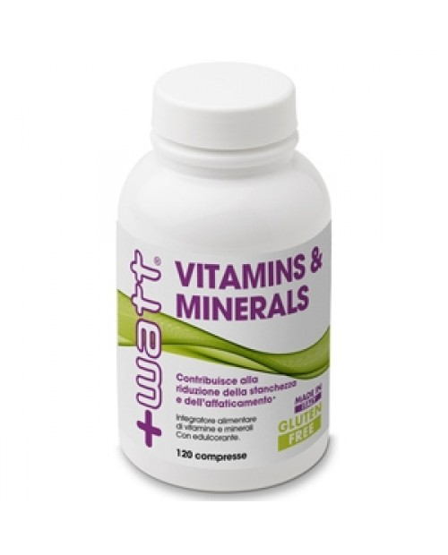 +Watt  Vitamins & Minerals 120 compresse