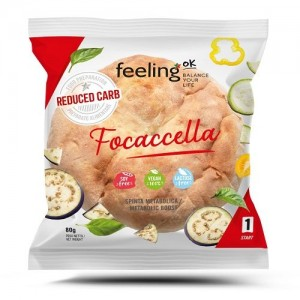 FEELING OK Focaccetta 1 x 80 grammi (Start 1)