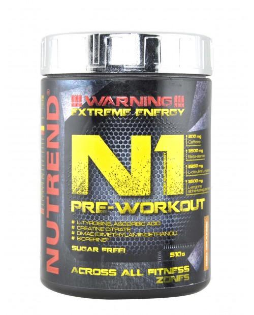 Nutrend N1 Pre-Workout 510 grammi