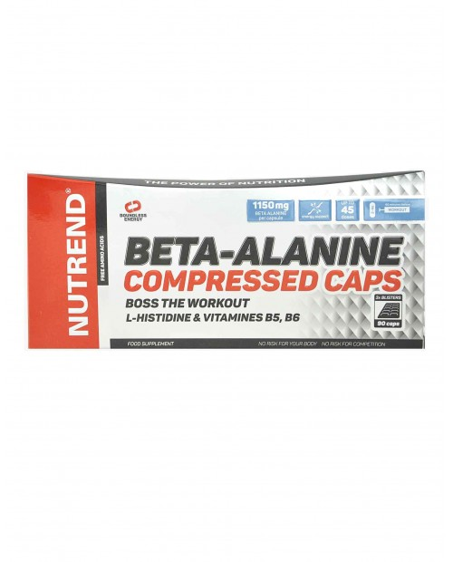 Nutrend Beta-Alanine Compressed Caps 90 capsule