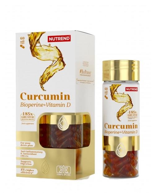 Nutrend Curcumin Bioperine+Vitamina D 60 capsule