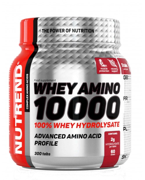 Nutrend Whey Amino 10000 300 compresse