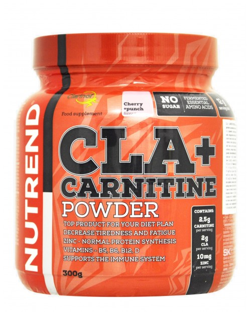 Nutrend CLA+ Carnitine Powder 300 grammi