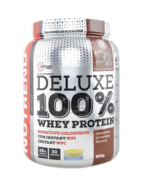 Nutrend Deluxe 100% Whey Protein 900 grammi