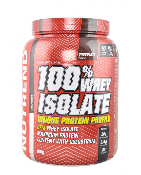 Nutrend 100% Whey Isolate 900 grammi