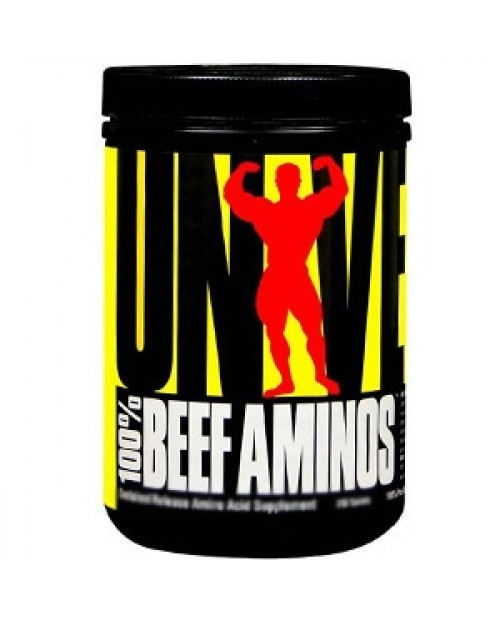 Universal Nutrition Beef Amino 200 Tavolette