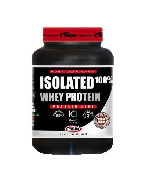 Pronutrition Isolated 100% Whey Protein 908 g