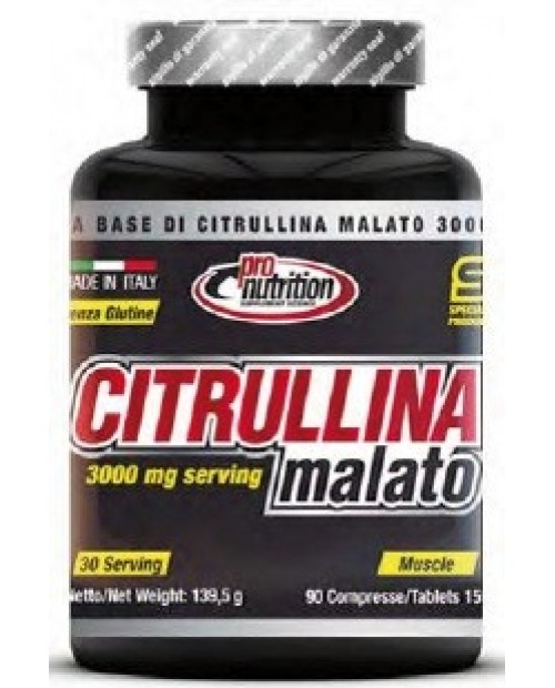 Pronutrition Citrullina Malato 90 Compresse