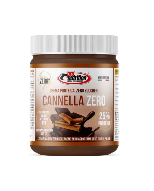 PRONUTRITION Fondente Zero Cannella 350 g