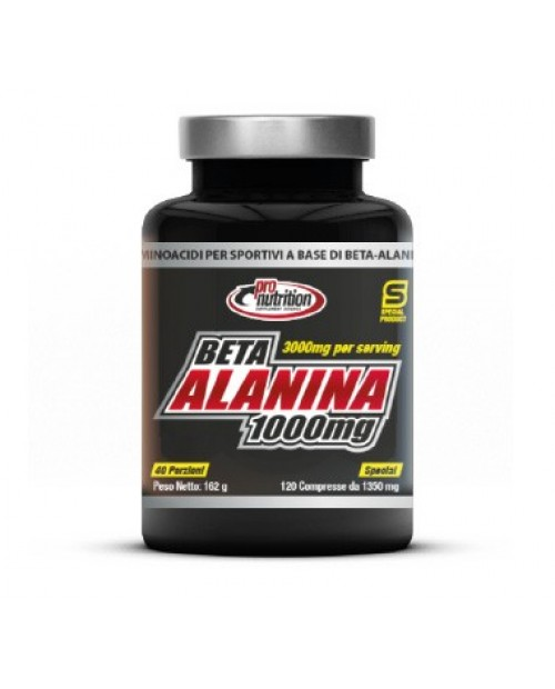 Pronutrition Beta Alanina 1000 120 Compresse