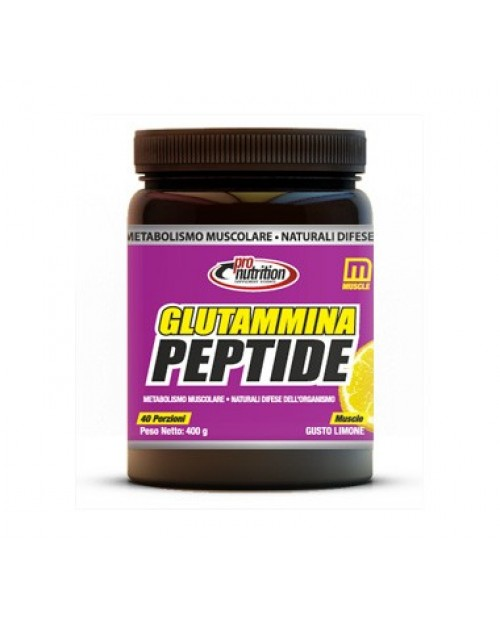 Pronutrition Glutamina Peptide 400 Grammi