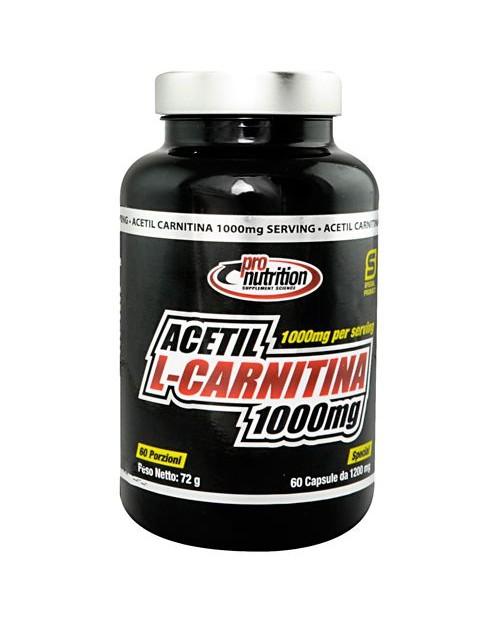 Pronutrition Acetil-L-Carnitina 1000 mg 60 Capsule