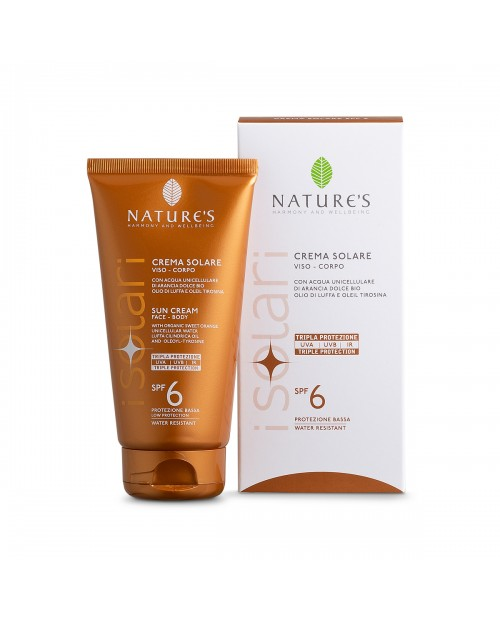 Nature's Crema Solare SPF6 150 ml