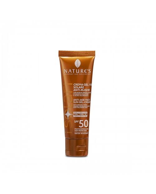 Nature's Crema-gel viso Solare Antirughe SPF50 50 ml
