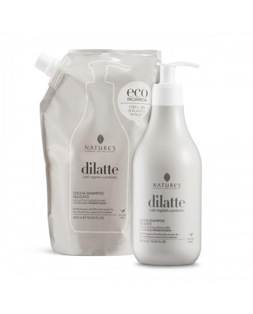 Nature's Doccia-shampoo delicato Dìlatte Flacone 400 ml