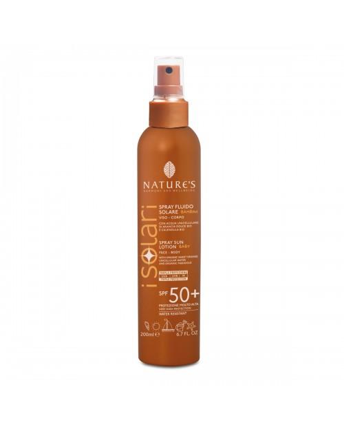 Nature's Spray Fluido Solare Bambini SPF 50+ 200 ml
