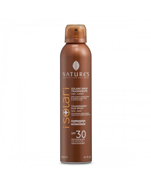 Nature's Solare Spray Trasparente SPF 30 200 ml