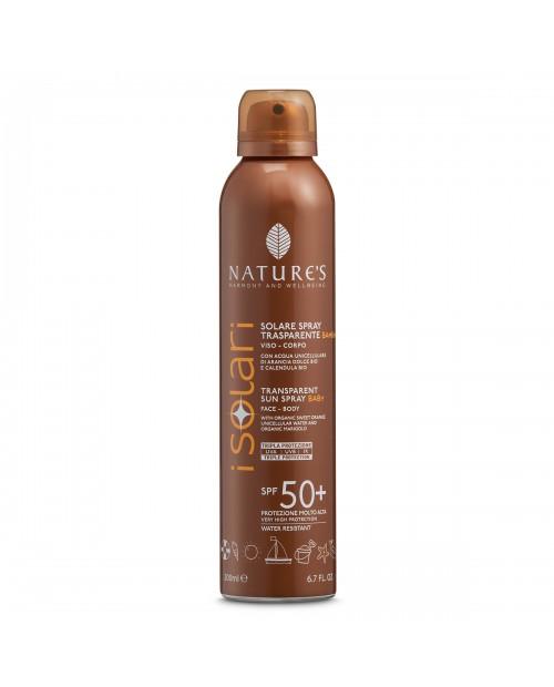 Nature's Solare Spray Trasparente Bambini SPF 50+ 200 ml