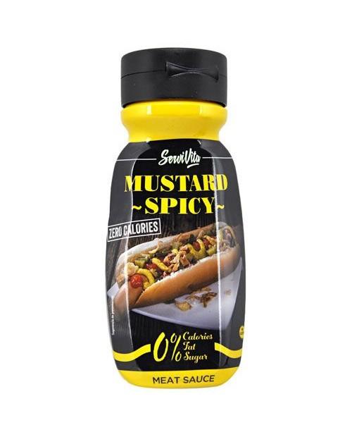 SERVIVITA Salsa Mustard Spicy 320 ml