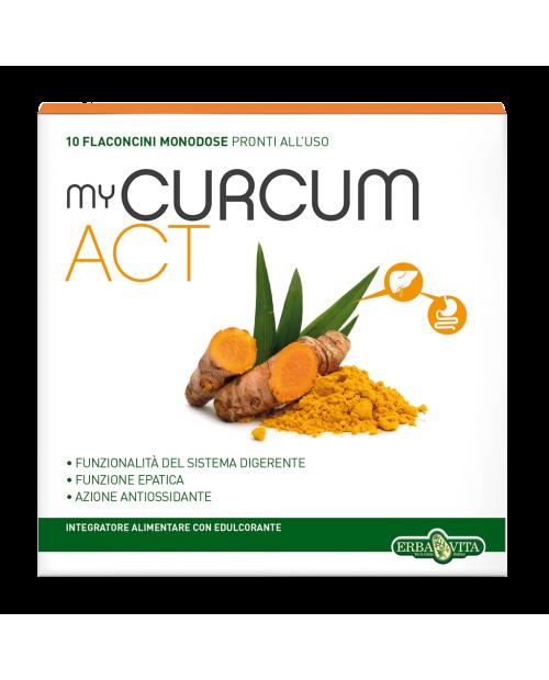 Erba Vita MyCurcum ACT 10 Flaconcini