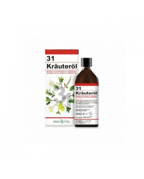 Erba Vita Krauterol Oil 31  100 ml