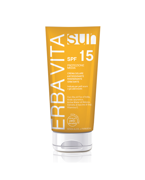 Erba Vita Sun Crema Solare SPF 15 100 ml