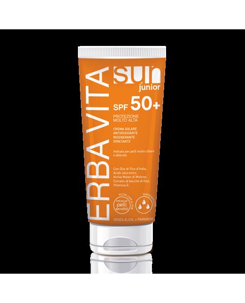 Erba Vita Sun Crema Solare SPF 50+ Junior 200 ml