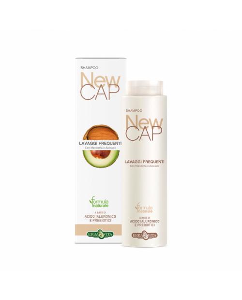 Erba Vita Newcap Shampoo Lavaggi Frequenti 250 ml
