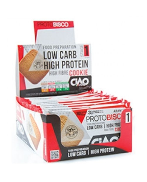 Ciao Carb ProtoBisco Box 10x50 grammi
