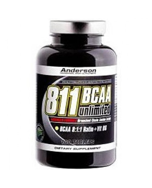 Anderson Research BCAA 8:1:1 Unilimited 200 compresse