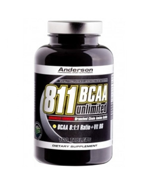 Anderson Research BCAA 8:1:1 Unilimited 100 compresse