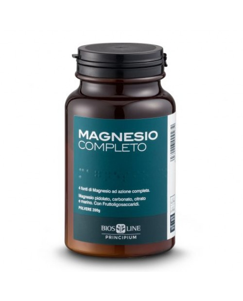 Biosline Principium Magnesio Completo 200 Grammi