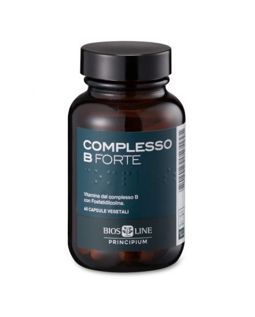 Biosline Principium Complesso B Forte 60 Capsule Vegetali