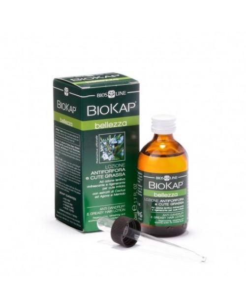 Biosline BioKap Lozione Antiforfora e Cute Grassa 50 ml