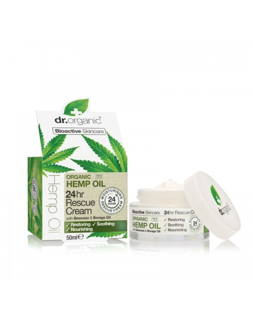 Dr. Organic Hemp Oil Crema Viso Intensiva 24 Ore 50 ml