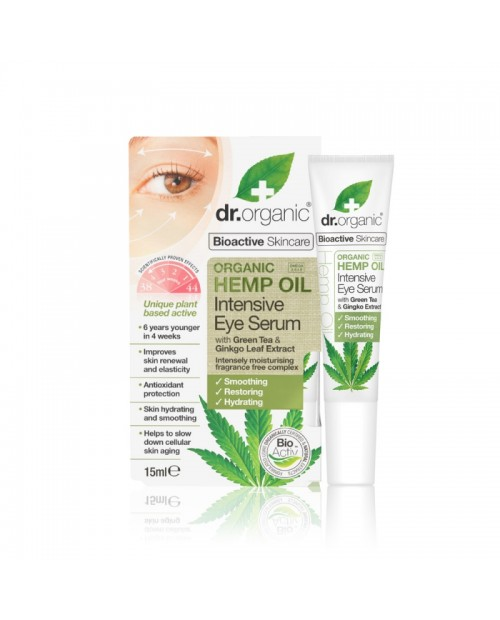 Dr. Organic Hemp Oil Siero contorno occhi intensive 15 ml
