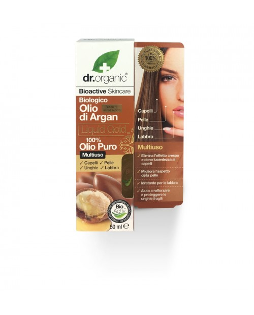 Dr. Organic Moroccan Argan Oil  100% Pure Oil 50 ml