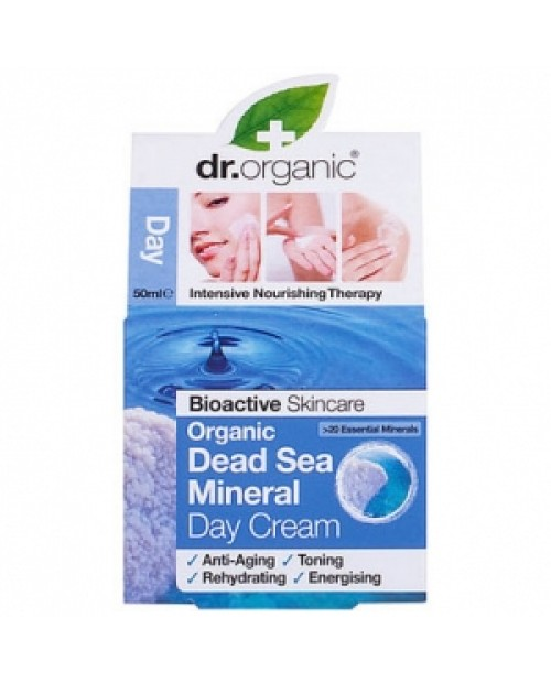 Dr. Organic Dead Sea MInerals  Day Cream 50 ml