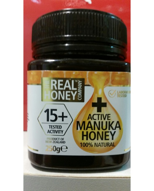 Optima Naturals Active  Manuka Honey 15+ 250 g