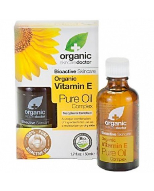 Dr.Organic Vitamin E Pure Oil 50 ml