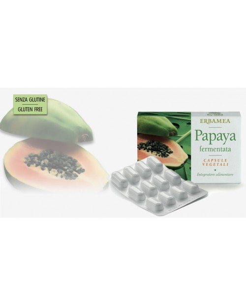 Erbamea Papaya Fermentata 20 capsule