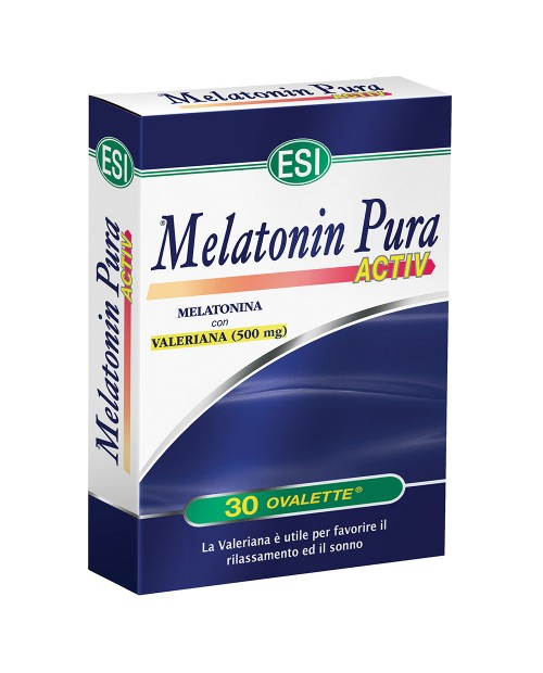 Esi Melatonina Pura Active 30 ovalette